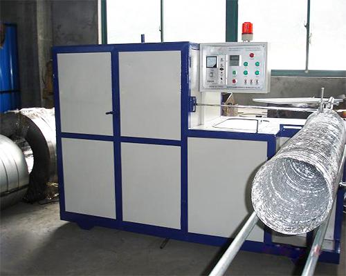 铝箔软管机应用